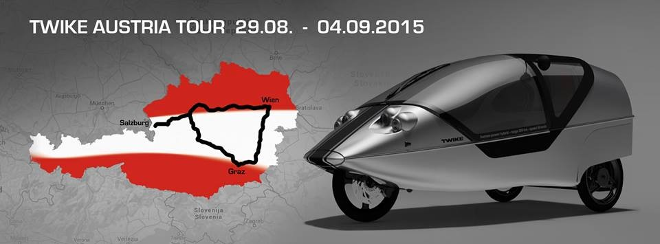 TWIKE Austria Tour 2015